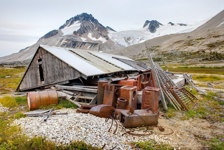 Mining cabin Coast Range British Columbia