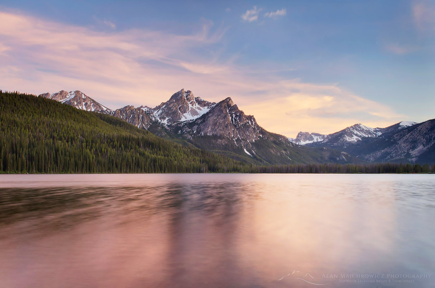 Stanley Lake, Sawtooth Mountains, Idaho