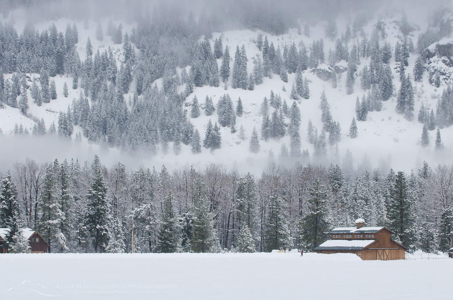 Methow Valley barn, Washington