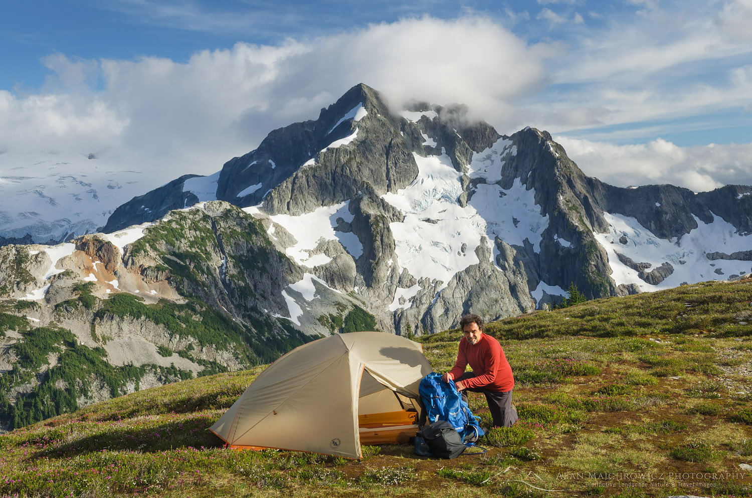 Backcountry Camp North Cascades National Park Backpacking Photography Gear Tips
