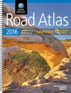 2016 Rand McNally Road Atlas