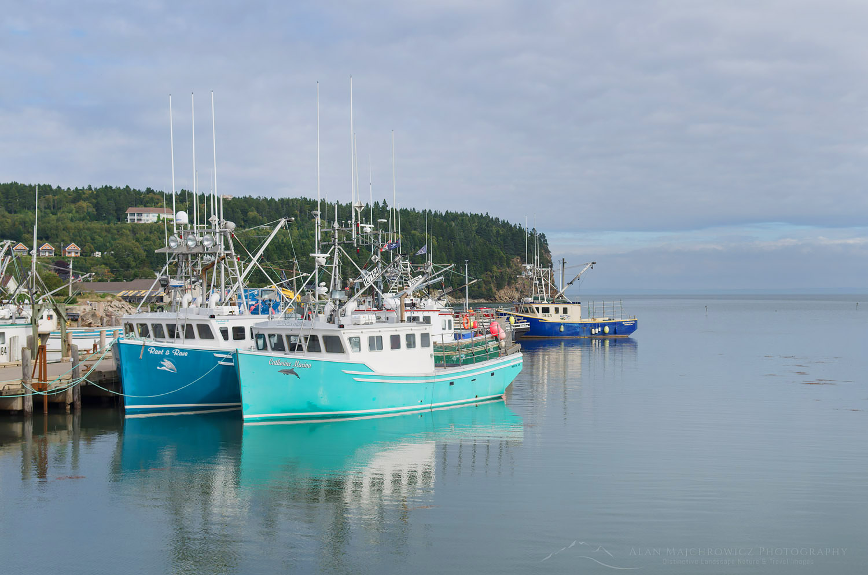 Fishing Boats New Brunswick - Alan Majchrowicz