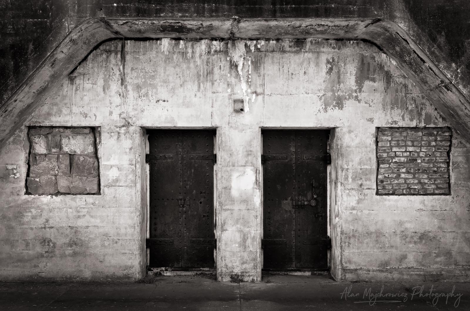 Fort Casey State Park, battery bunkers BW Photo Highlights 2018