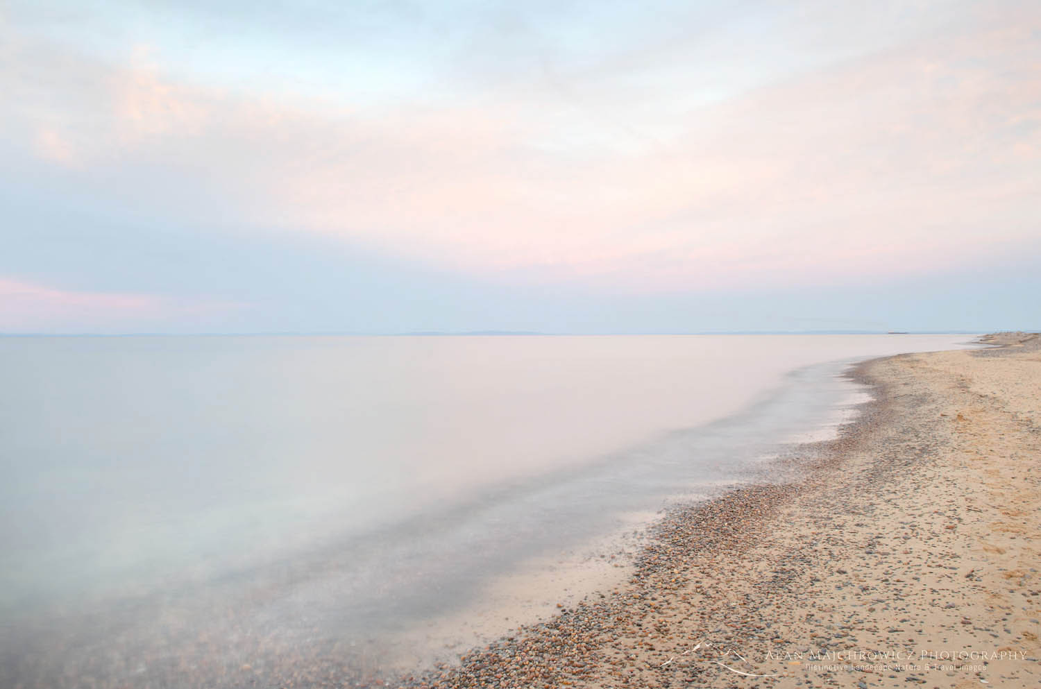 Lake Superior Whitefish Point Upper Peninsula Michigan Minimalism Photography Gallery