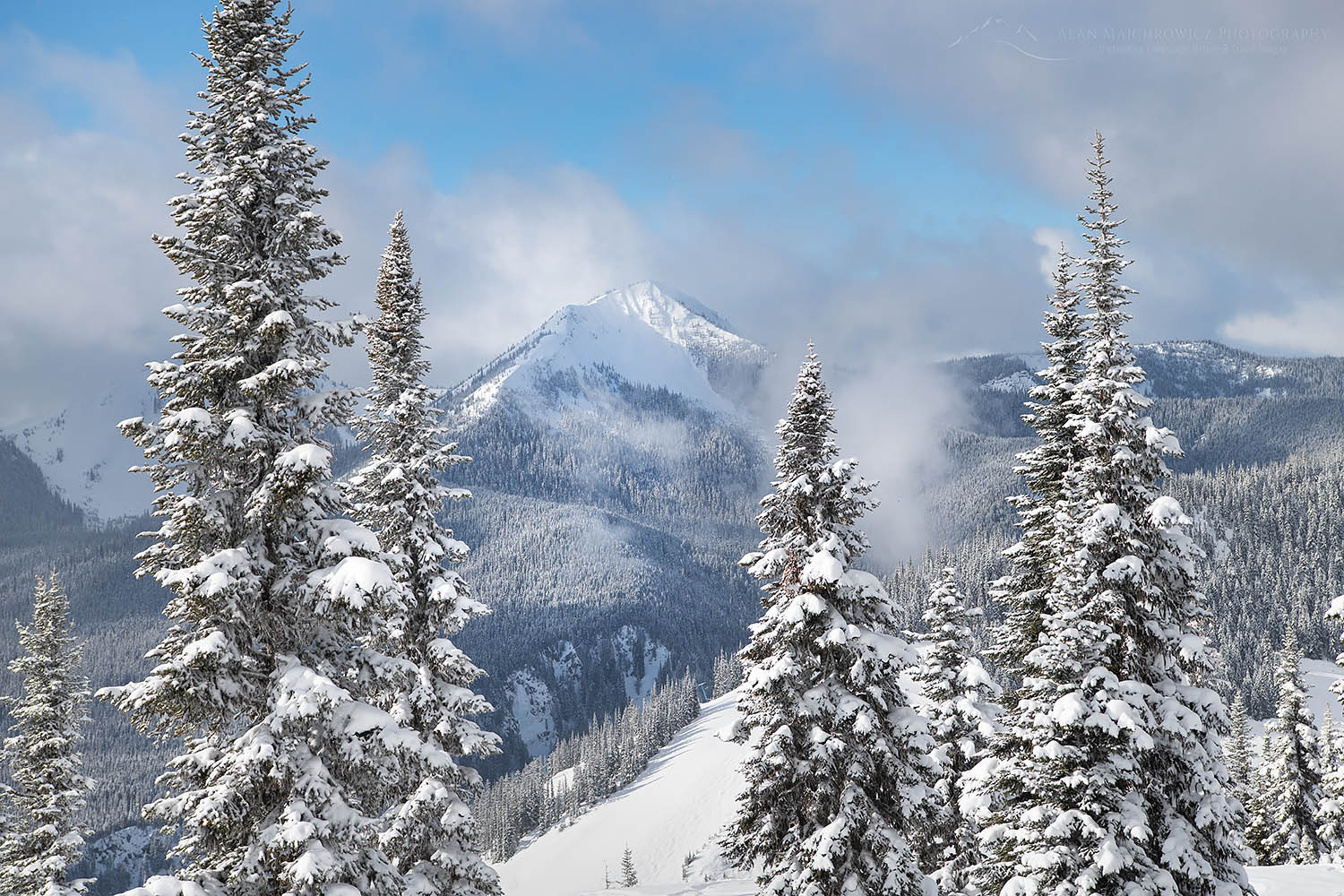 North Cascades Winter, Manning Provincial Park