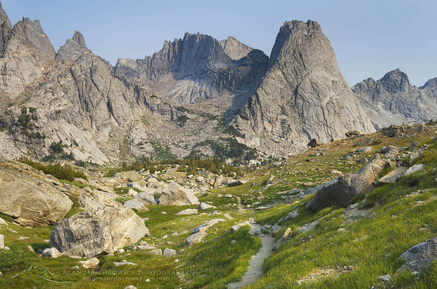 Cirque of the Towers, Wind River Range Wyoming