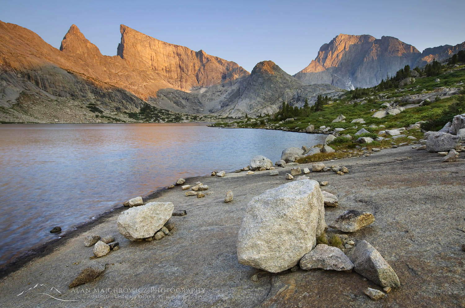 Deep Lake, Wind River Range Wyoming