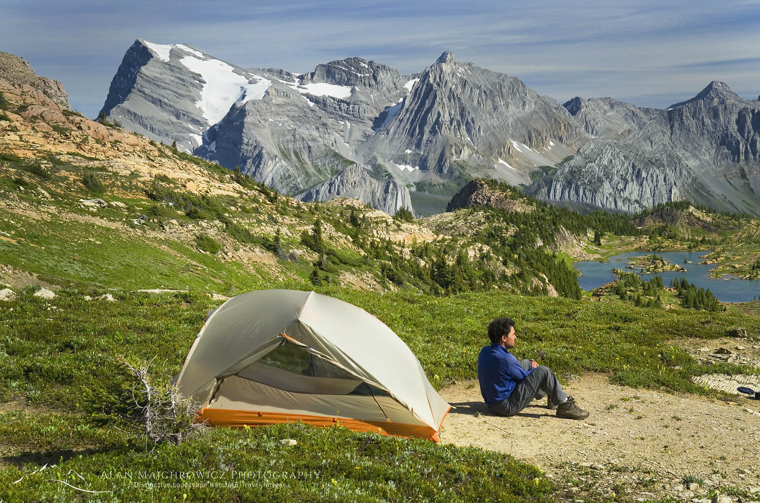 Height of the Rockies backcountry camp Summer Photography Tour 2019