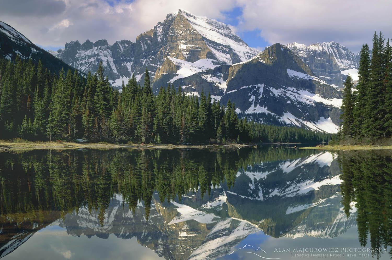 Mount Gould and Lake Josephine, Glacier National Park Montana