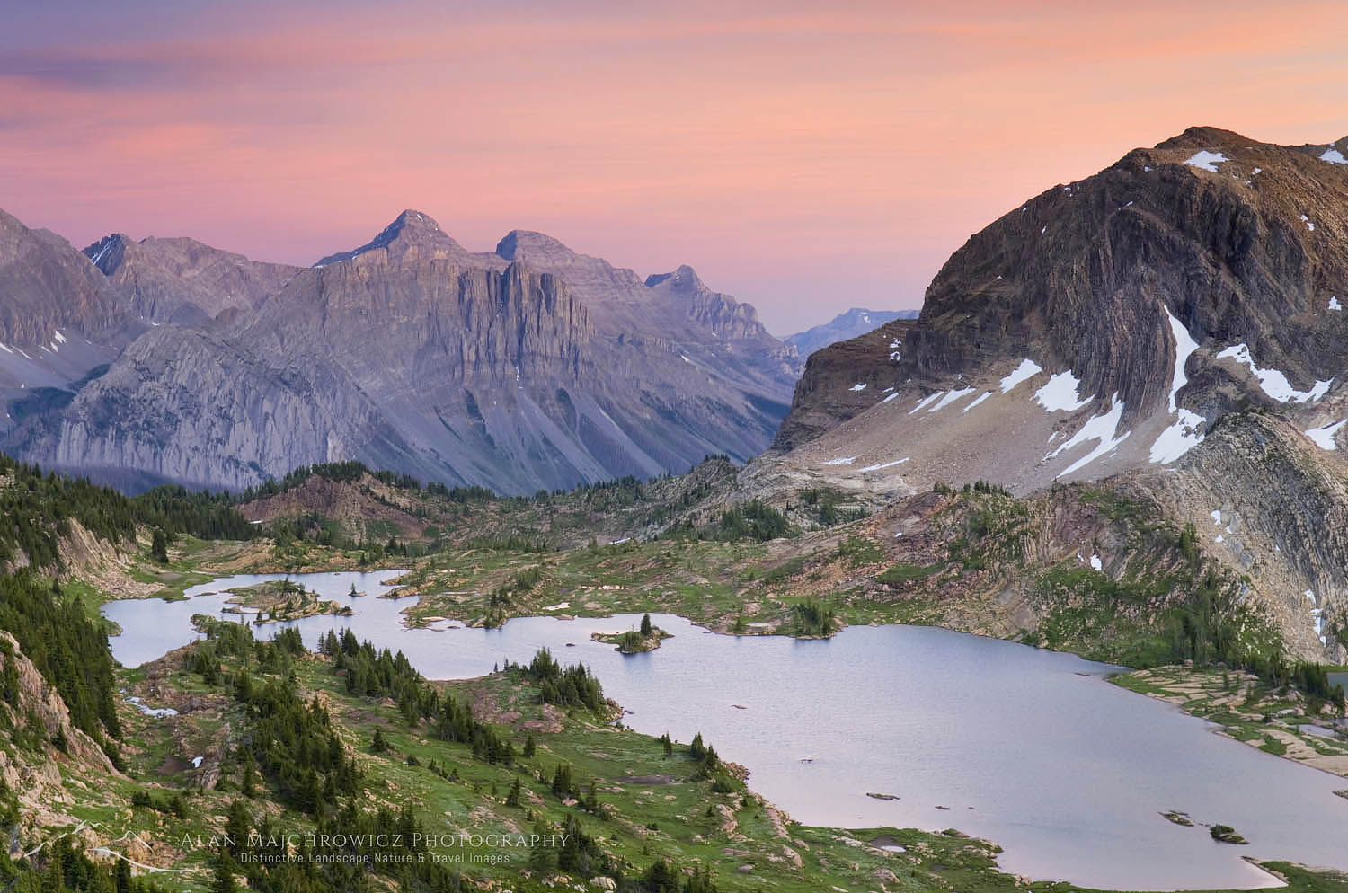 Limestone Lakes, Height-of-the-Rockies Provincial Park