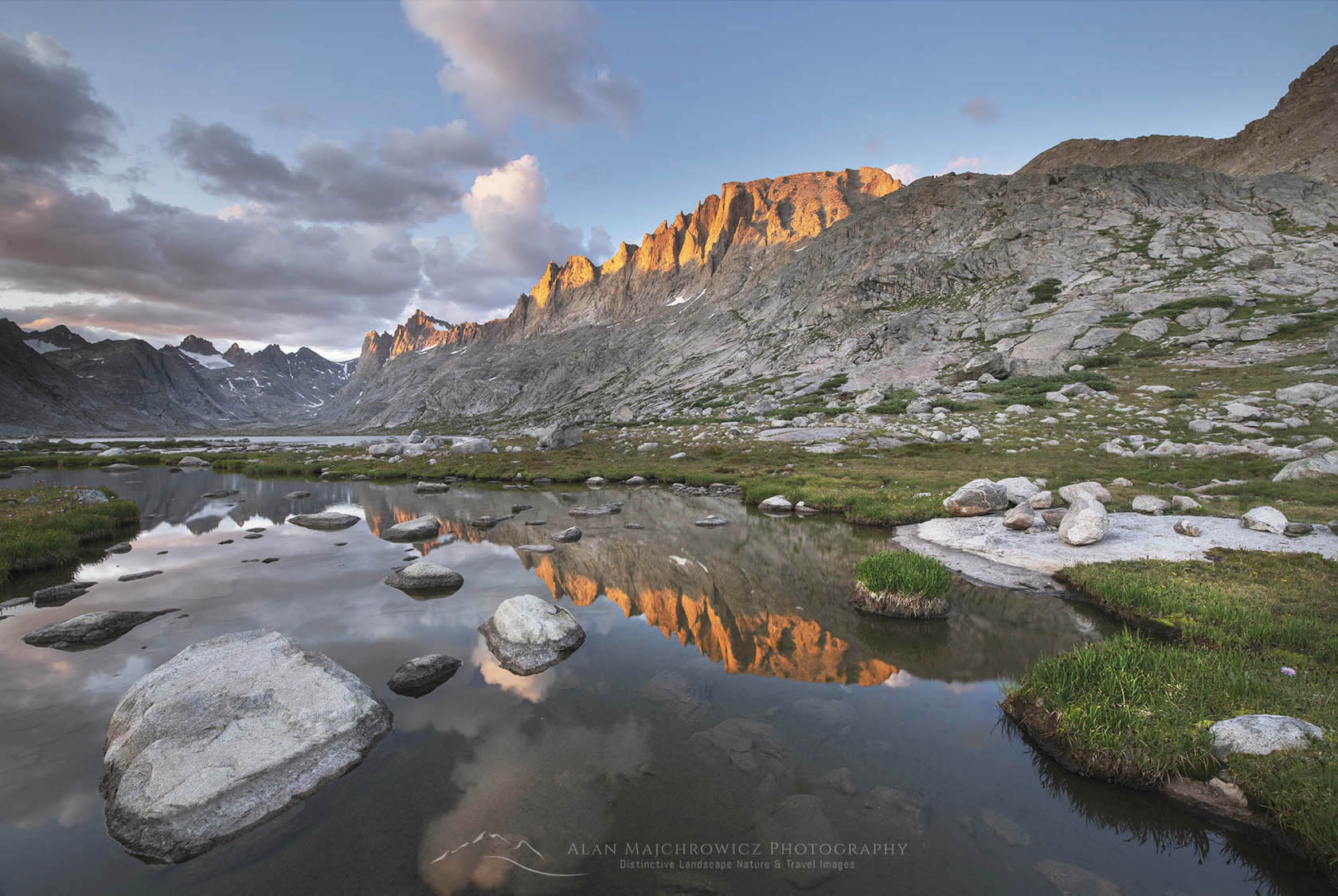 Titcomb Basin. Wind River Range Wyoming