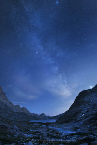 Milky Way Wind River Range Wyoming
