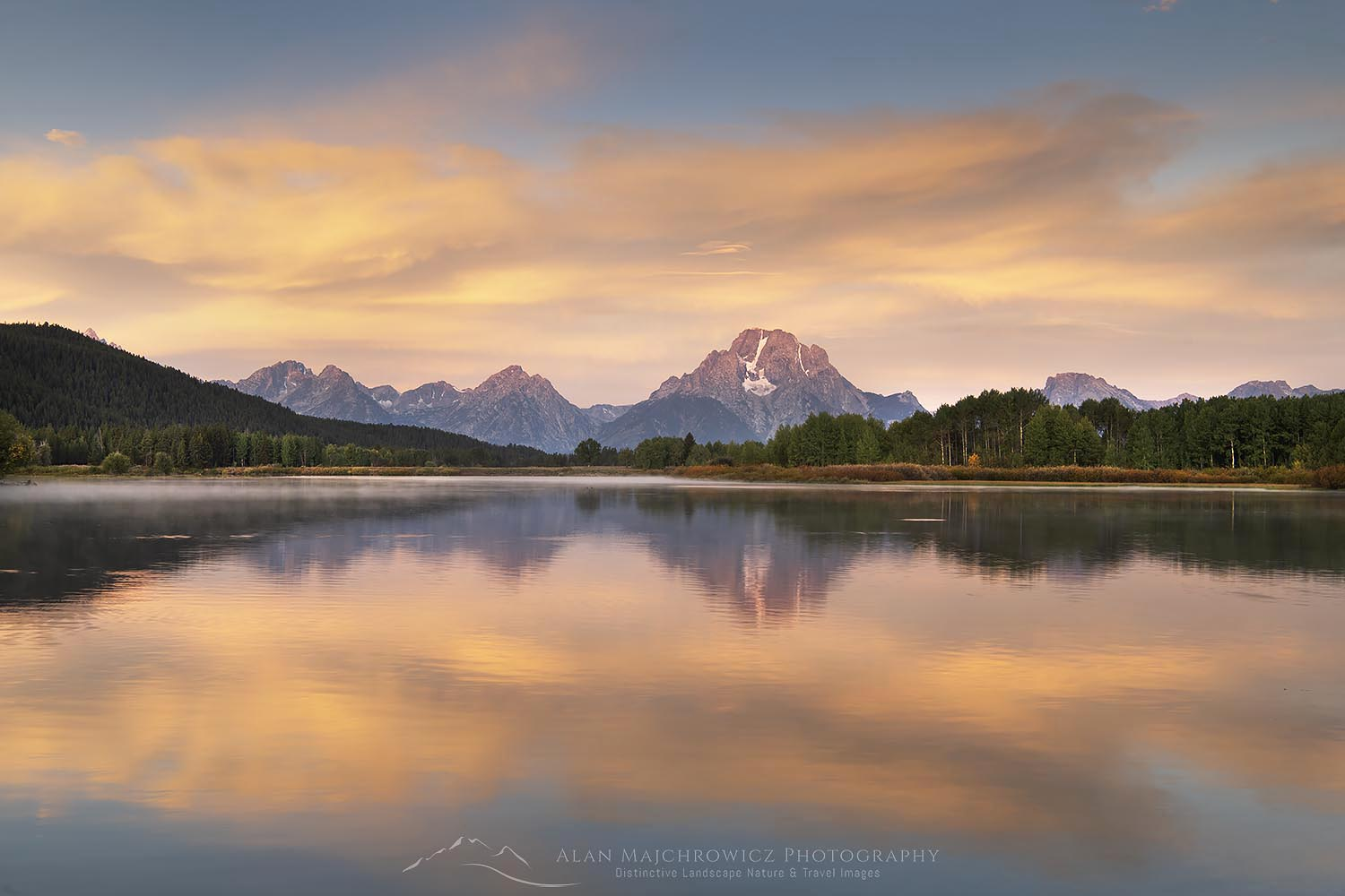 Sunrise at Oxbow Bend, Grand Teton National Park Trip Update: Grand Teton Yellowstone