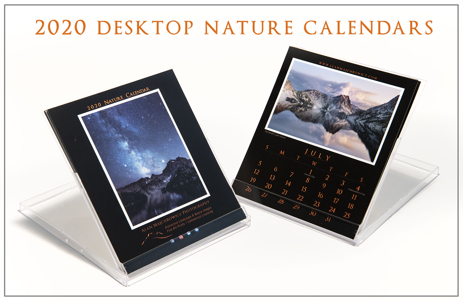 2020 Desktop Nature Calendar