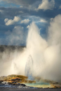 Clepsydra Geyser Yellowstone National Park New Images Yellowstone Teton Glacier