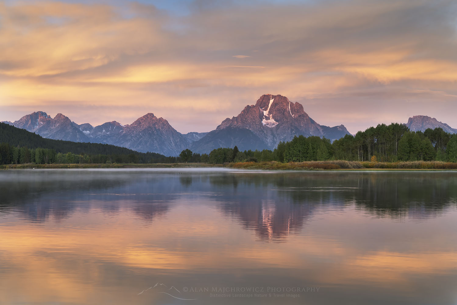 Oxbow Bend sunrise Grand Teton National Park New Images Yellowstone Teton Glacier