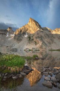 Twin Lakes Sawtooth Mountains Idaho