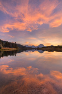 Oxbow Bend sunset Grand Teton National Park