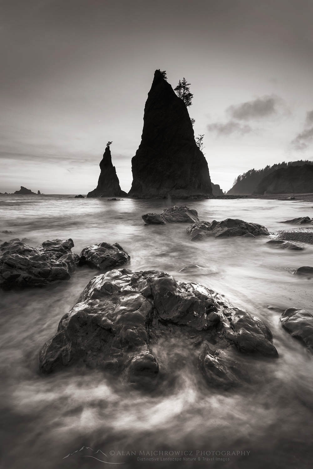 Split Rock Rialto Beach Olympic National Park