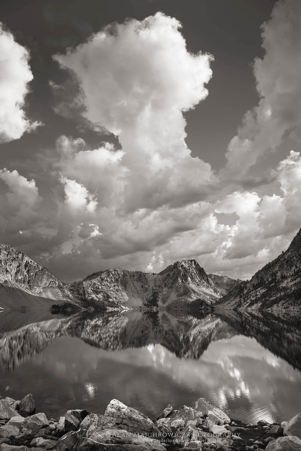 Sawtooth Lake Sawtooth Mountains Idaho