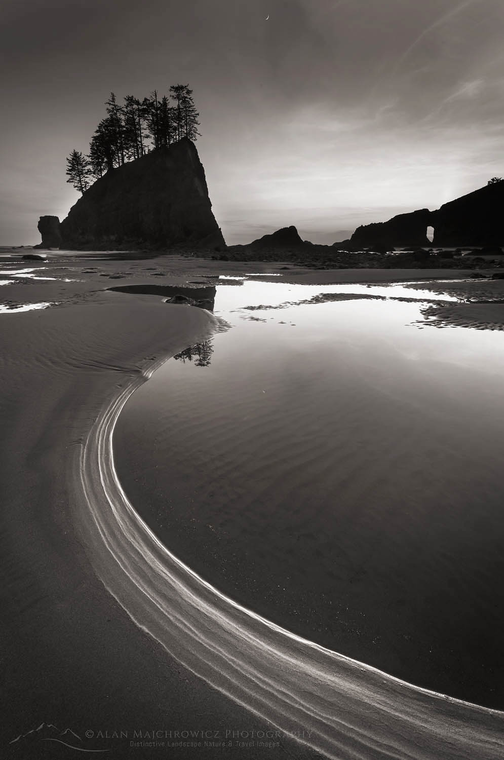 Second Beach Olympic National Park