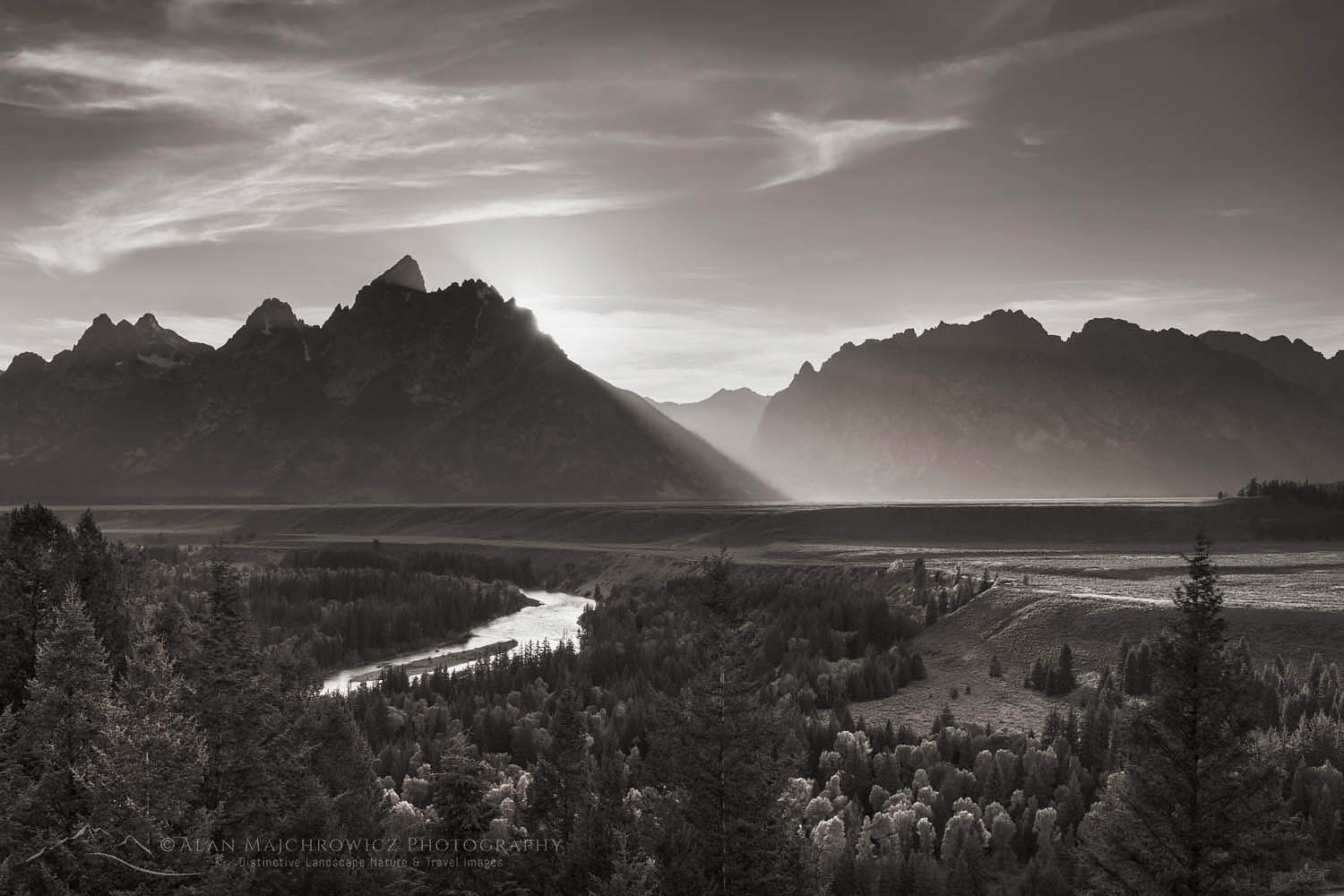 Snake River Overlook Grant Teton National Park