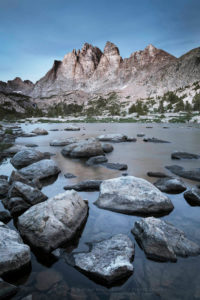 Mount Bonneville Wind River Range Wyoming