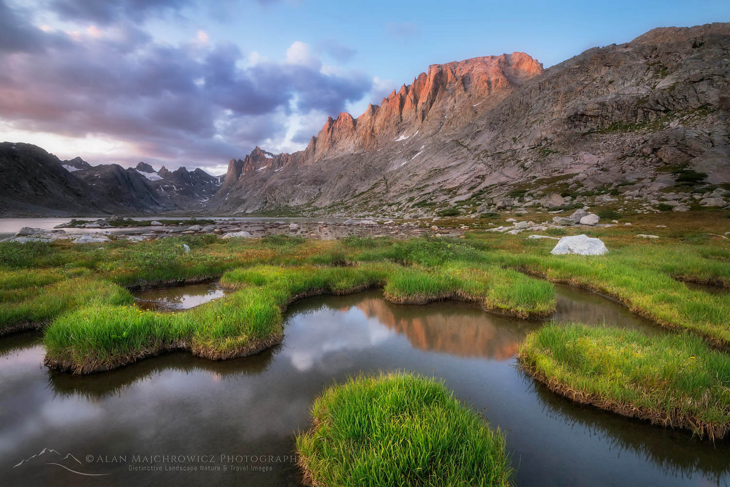 Titcomb Basin Wind River Range Wyoming