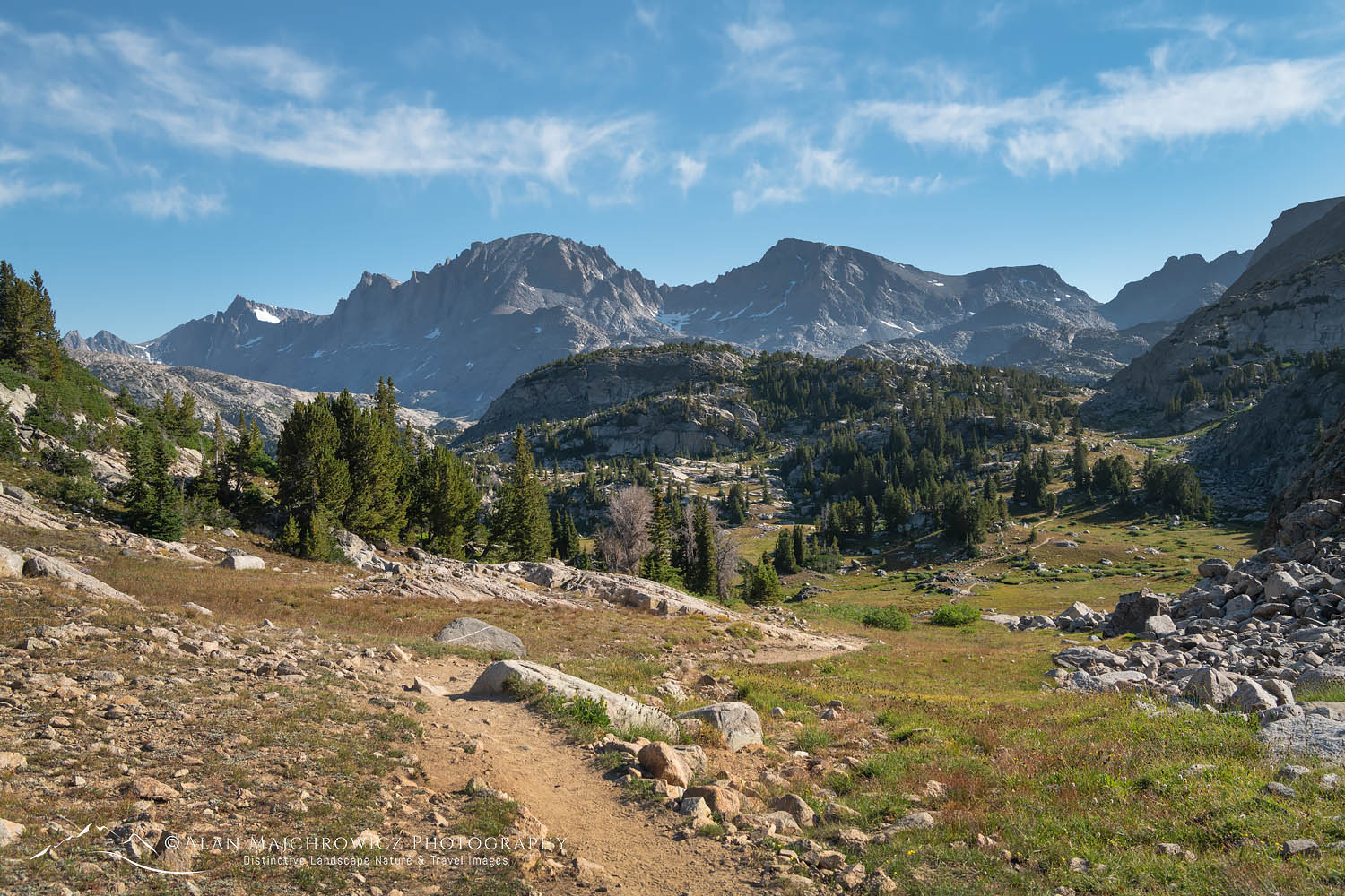 Island Lake Trail Wind River Range Wyoming