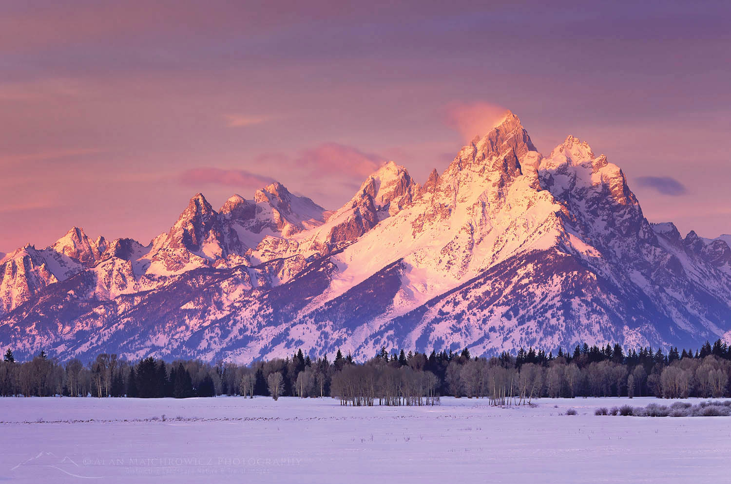 Grand Teton National Park in winter Grand Teton Photography Trip Planning