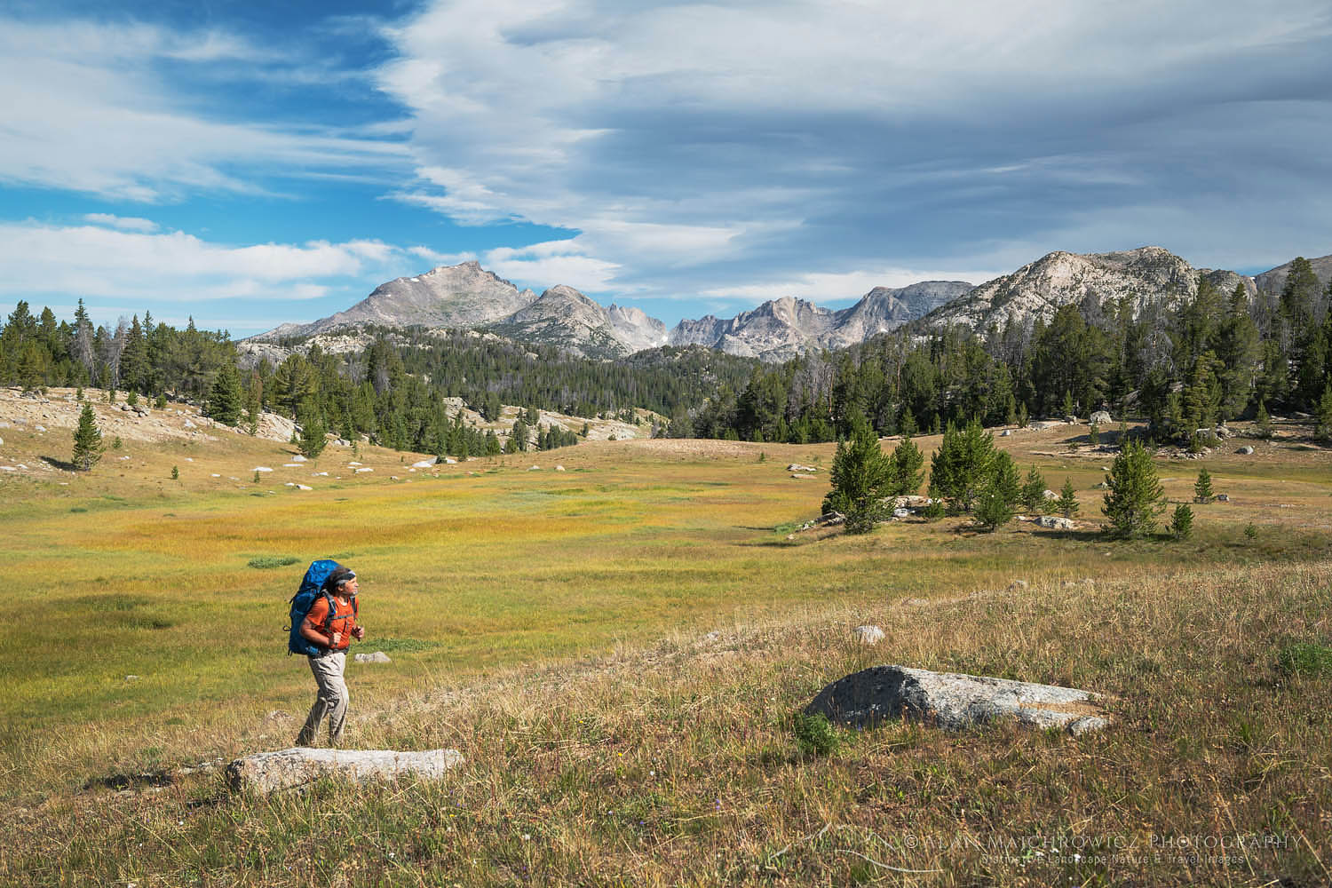 Backpacker Wind River Range, Wyoming Backpacking Photography Tips