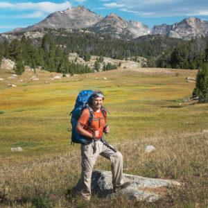 Backpacker Wind River Range Wyoming Alan Majchrowicz Artist Statement & Bio