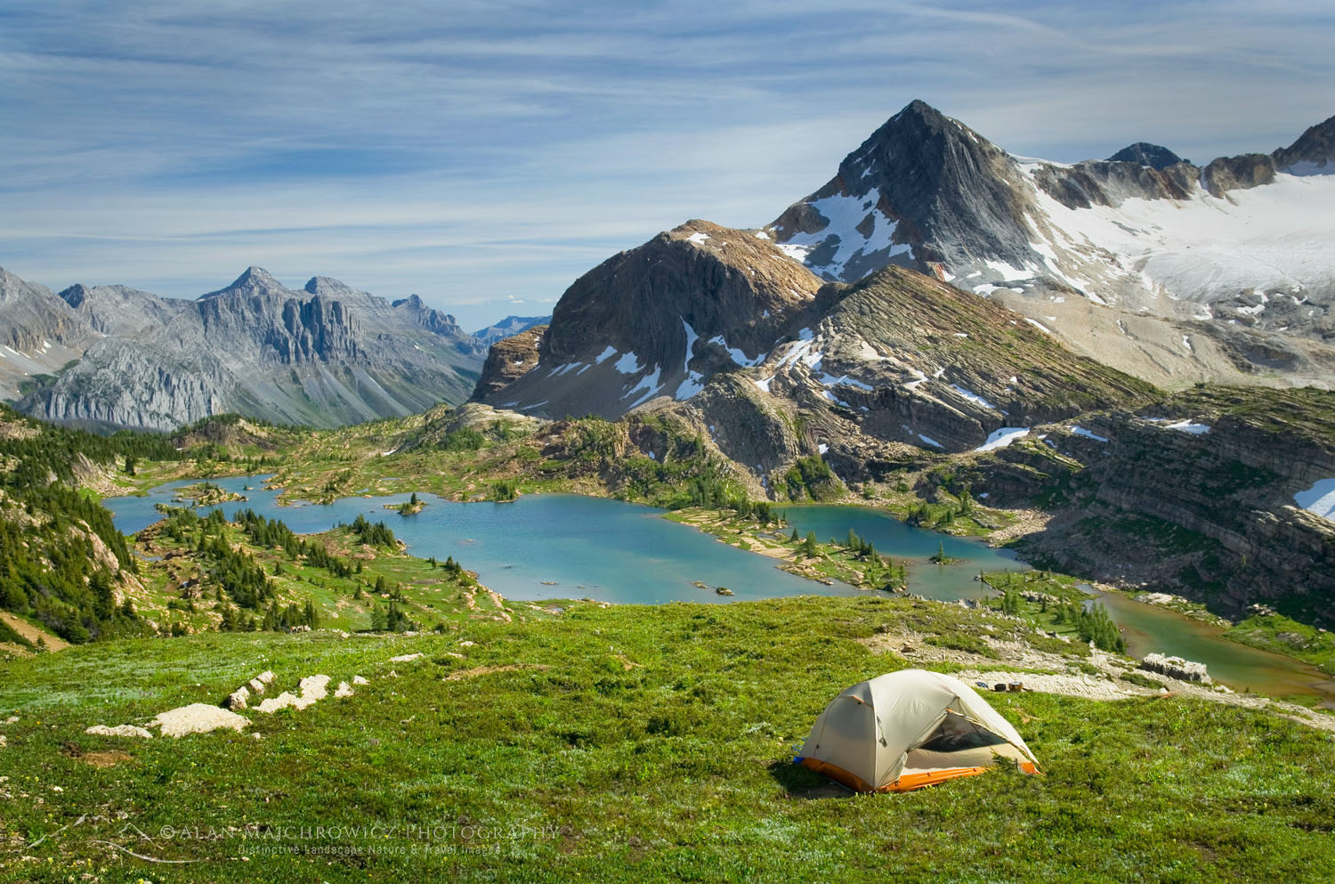 Limestone Lakes Basin Height of the Rockies Provincial Park British Columbia