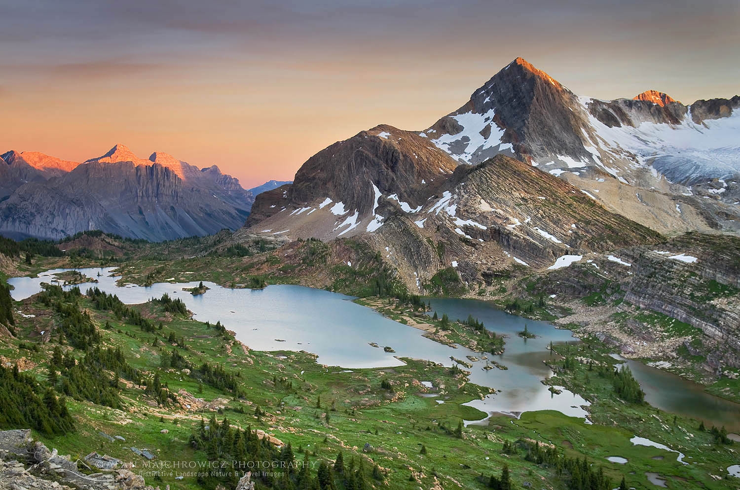 Limestone Lakes Basin Height-of-the-Rockies Provincial Park British Columbia