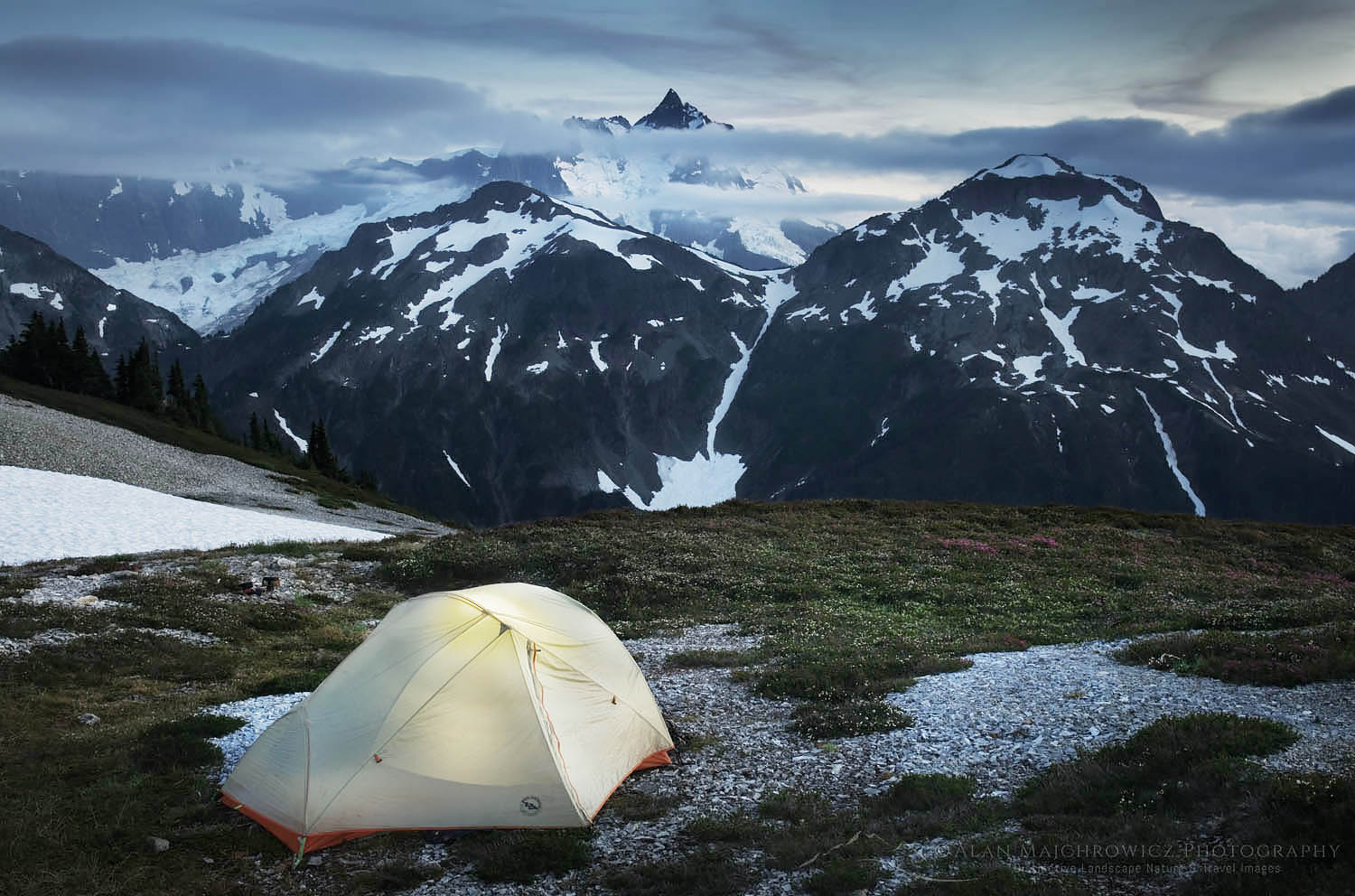 Hannegan Peak backcountry camp North Cascades Backpacking Photography Tips