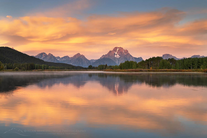 Oxbow Bend sunrise Grand Teton National Park