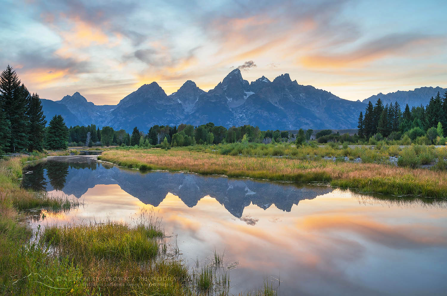 Schwabacher Landing Grand Teton National Park